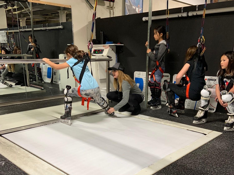 Skating Treadmill