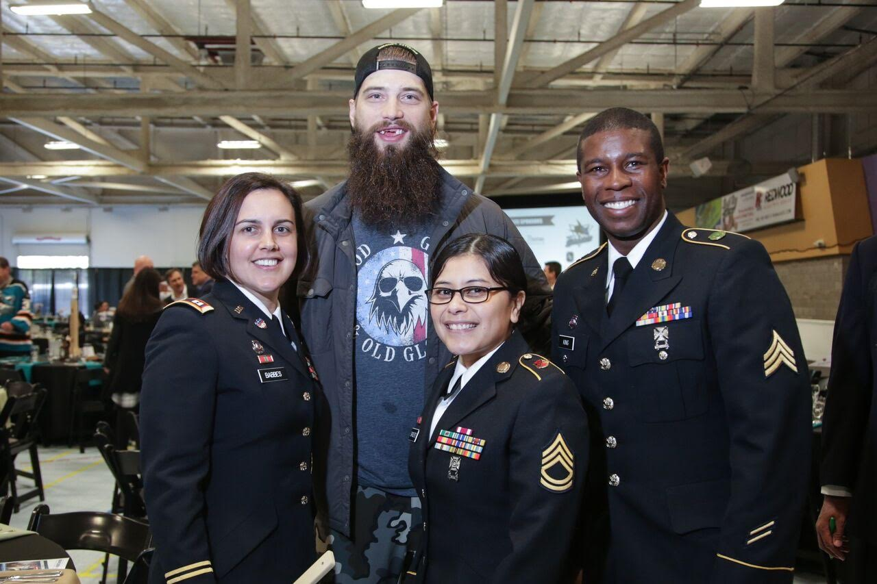 Brent Burns and United Heroes League